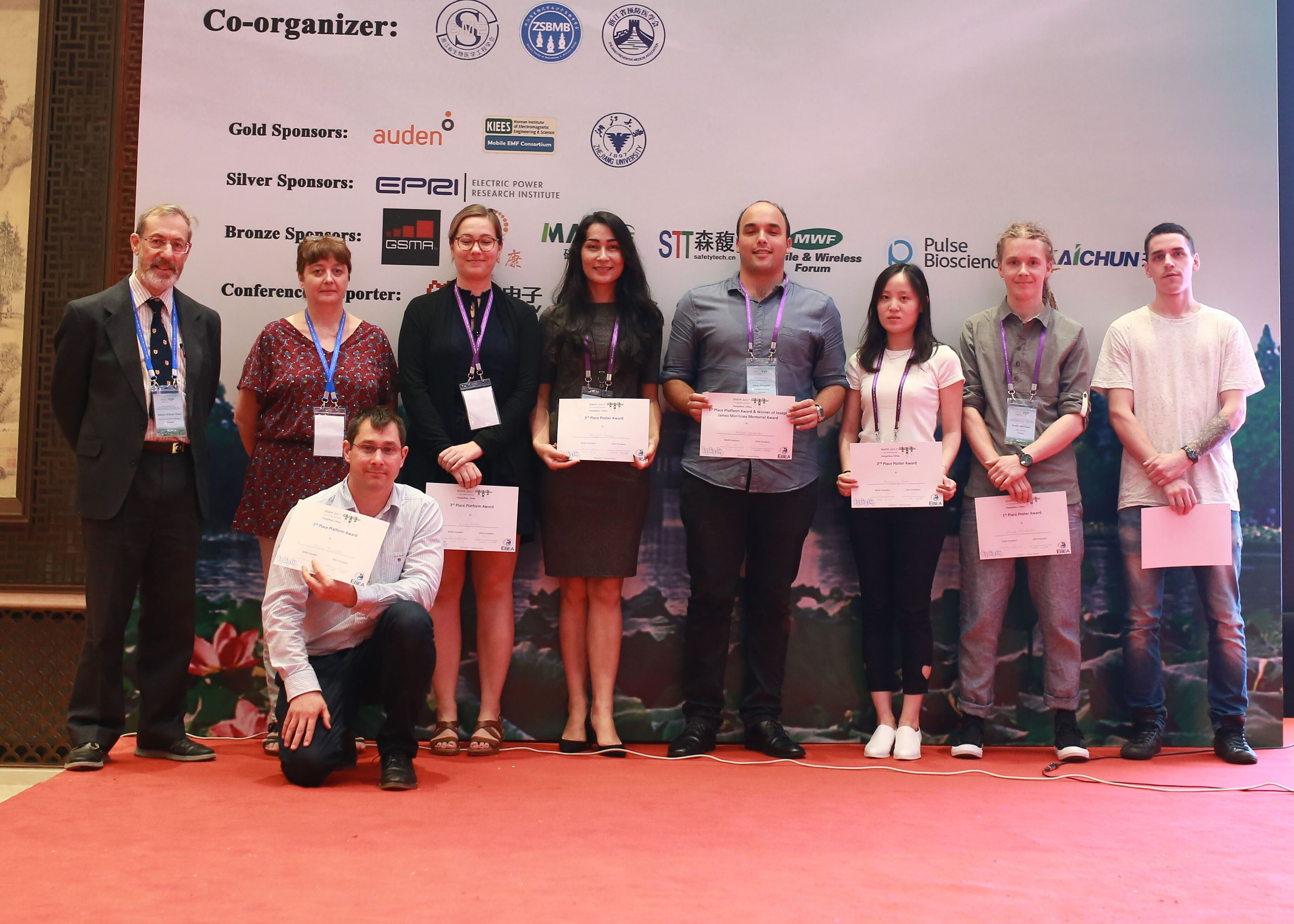 Winners of the Student Awards