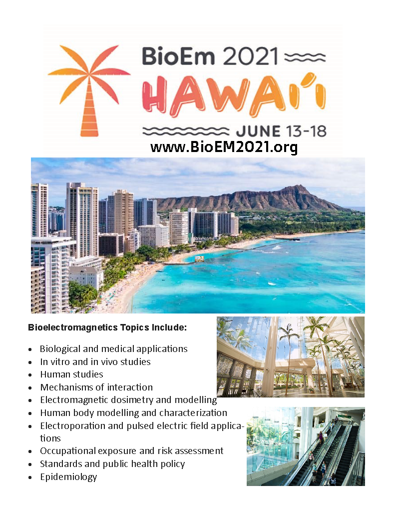 Flyer for the BioEM2021 meeting
